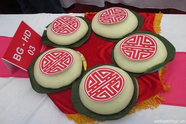 Hình 1 - Bánh dày Gia Lộc là đặc sản nổi tiếng của thị trấn Gia Lộc, tỉnh Hải Dương