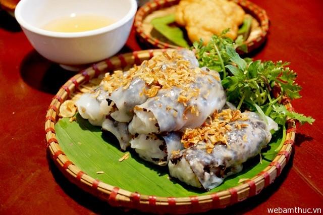 Hình 3- Bánh cuốn là món ăn ngon ở Hà Nội