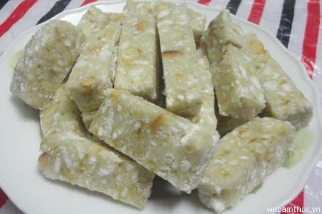 Hình 5 - Bánh lòng Kinh Môn là món bánh truyền thống nổi tiếng ở Hải Dương