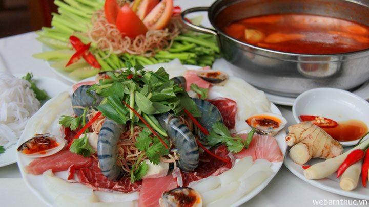 Hình 5- Lẩu Thái là món ăn ngon truyền thống ở Thái Lan