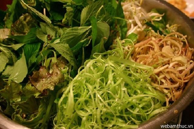 Hình 5 – Chuẩn bị rau sống ăn kèm