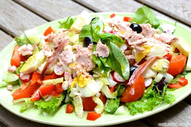 Hình 6 - Salade Nicoise, món ngon nước Pháp