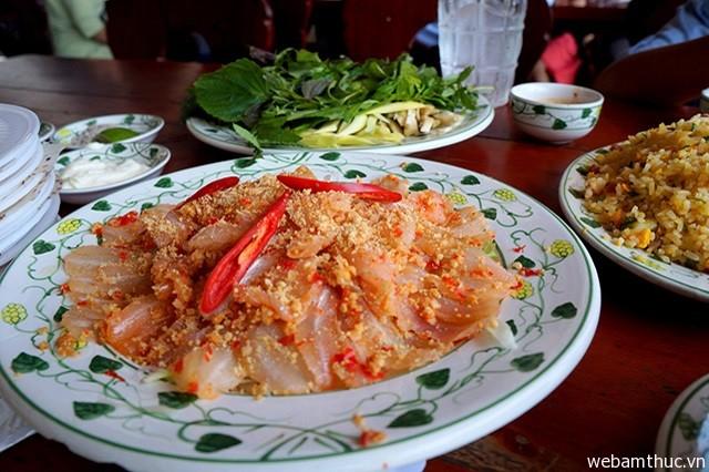 Hình 7 – Gỏi cá Mai là món ăn nổi tiếng của dư dân ở Vũng Tàu