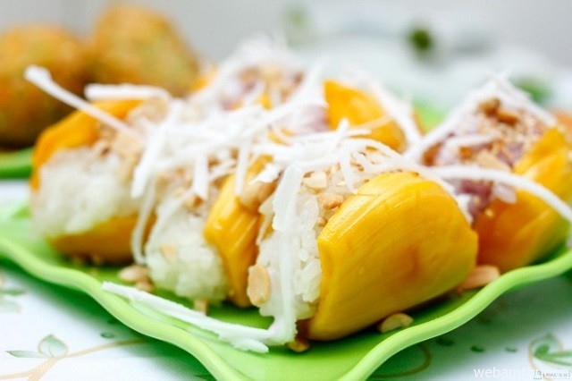 Hình 7 – Xôi mít là món ăn hấp dẫn, được nhiều người ưa chuộng