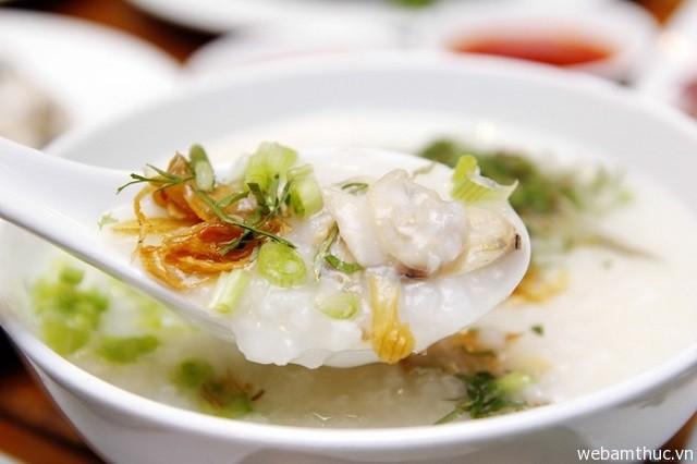 Hình 8 - Cháo hàu Long Sơn là món ăn vô cùng thơm ngon, cực kỳ bổ dưỡng
