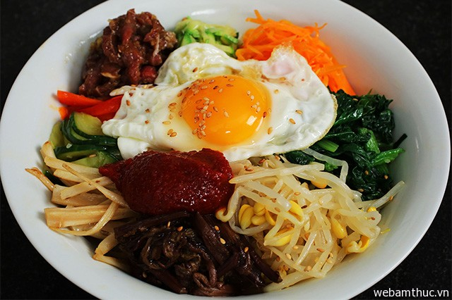 Sanchae Bibibap – món ăn thanh đạm ở vùng Seongnamsa
