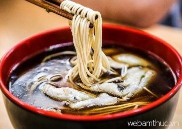 Những món mì trứ danh nhất định phải thử khi đi Thượng Hải
