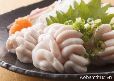 """Thưởng thức món shiraco làm từ """"tinh hoàn"""" cá của người Nhật Bản"""