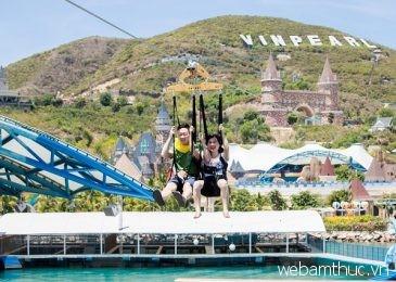 Trượt Zipline ngắm cảnh – trải nghiệm tuyệt vời ở Nha Trang