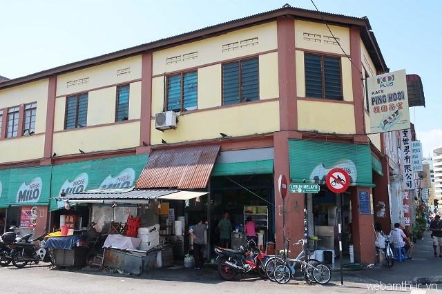 Ping Hooi là địa điểm ăn uống tuyệt vời cho những ai thích món hủ tiếu xào ở Penang