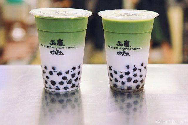 Lattea có một loại trà sữa nổi tiếng nhất là trà sữa phủ kem phô mai mặn