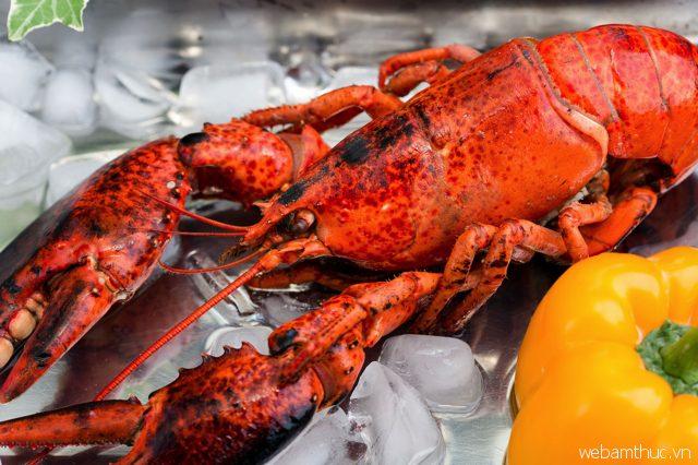 Tôm hùm là hải sản đặc trưng của thành phố Boston